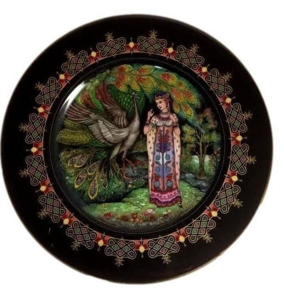 Russian Magical Fairy Tales, Villeroy and Boch, Heinrich Germany,  Rusean and Ludmilla, Geo Trauth, Vintage Plate