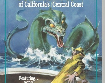 Mysterious sea monsters of california's central coast by randall reinstedt softcover
