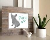 Aquarell Pet-Art Prints - wählen Sie eine Rasse und einen Namen - Custom 8 x 10-Pet-Art