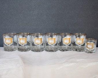 Vintage Glassware Set - Pharmacist Gift - Doctor Gift - Nurse Gift - Vintage Glasses - Mid Century Glassware - Pharmacy Decor -Medical Decor