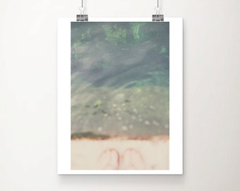 Adriatic ocean photograph Dubrovnik photograph travel photography Ocean print water print foot photograph abstract print
