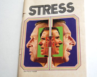 Vintage booklet, Stress, Learning to Love Successfully in Today's World