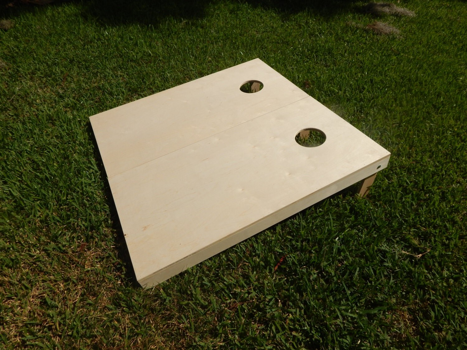 Regulation Unfinished Corn Hole Board Set With Bags