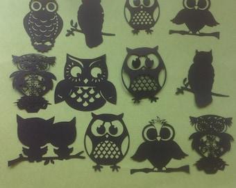 Fancy Wimsical Owl Die Cits