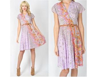 Fluttery Lilac Dress