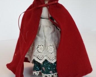 Avon Little Red Riding Hood Doll  - 1985