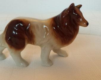 Ceramic Collie Figurine