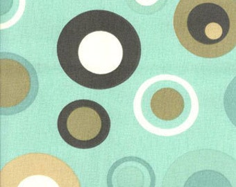 Retro Bubbles Spa Home Decor Fabric - One Yard - Cotton Fabric
