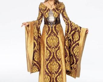 McCalls 6940: Game of Thrones Cirsei pattern, New uncut Sewing Pattern, size 14-22 Costume Sewing Pattern