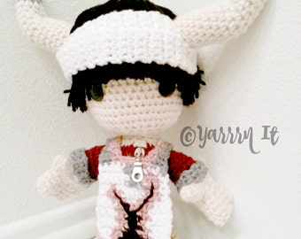 Ico - Sackboy Amigurumi (crocheted stuffed doll)