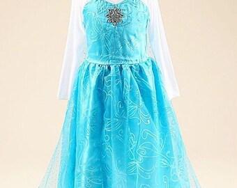 Blue Elsa dress