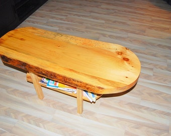 Old Pine Coffee Table