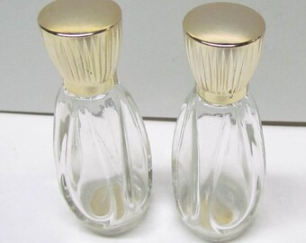 2 Vintage Avon Bottles / Decanters, Both Are Empty - Home Decor - Collectible Avon