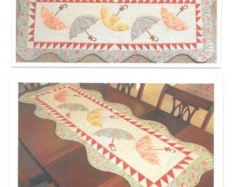 "Pattern ""Scattered Showers"" by Cheri Leffler Designs (CLDTT) Paper Pattern Applique Table Runner Pattern"