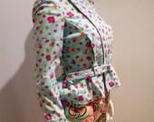 Vintage Versace floral jacket with loads of details