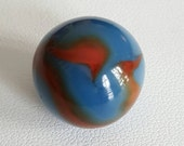 Vintage Marble   Alley Agate   Spiderman   2 Color Swirl   FREE SHIPPING!