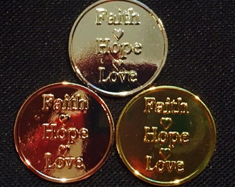 "33 mm Cached Treasures ""Faith"""