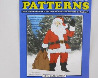 Life-Size Santa Claus Wood Craft Pattern