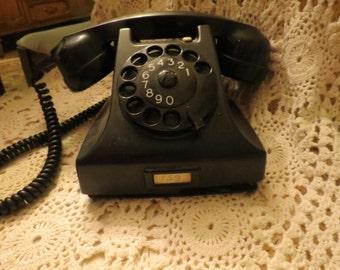 Vintage Ericsson Bakelite 1950 phone