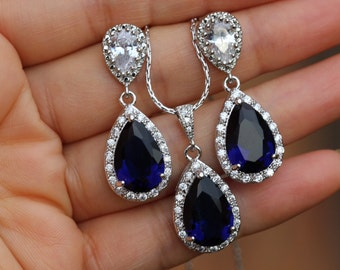 """Shop """"sapphire"""" in Jewelry Sets"""