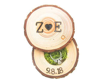 Wood Ring Box, Wedding Gift For Her, Engagements, Proposals