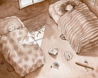 "One Morning 8x10"" Art Print"