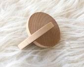 Montessori Baby Toy - Modern Toy - Montessori Toy - Grasping Toy - Rolling disc - Interlocking Disc - Natural Toy - Interlocking Discs