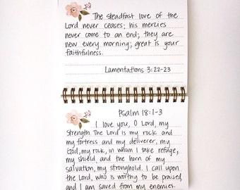 Scripture Memory Journal