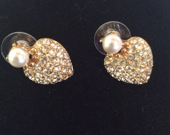 14 kart gold post earrings 1 in