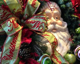Jolly Old St Nicholas Wreath