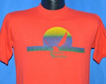 80s Indiana Summer Red Vintage t-shirt Medium