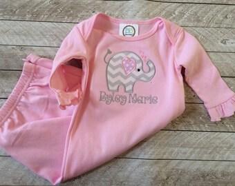Newborn Valentine Gown
