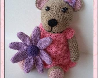 Crochet Pattern - Suzie Bear