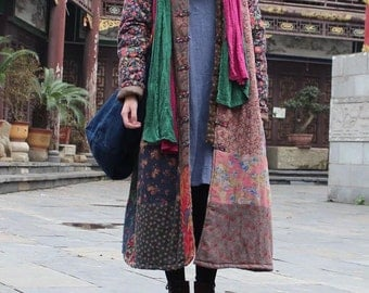 Rare vintage Chinese New Year patchwork jacket