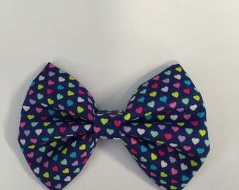 Hearts hair bow