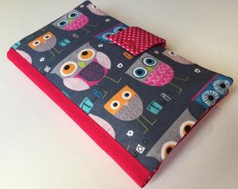 Diaper Bag / Clutch 'Owl Family'