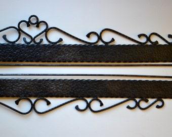 Big quilt hanger | Etsy : wrought iron quilt hangers - Adamdwight.com