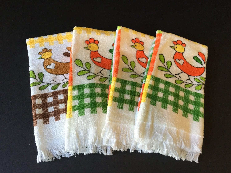 Vintage Kitchen Towels Dish Towels Cannon Towels New