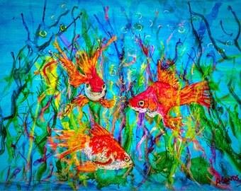 Goldfish in Wonderland