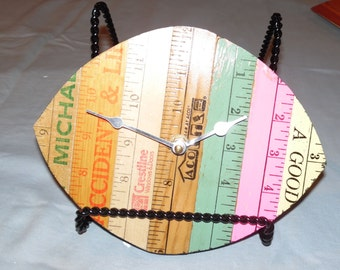 Ruler/Yardstick Clock