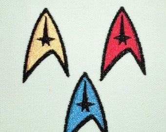 Iron-On Patch - Star Trek INSIGNIA