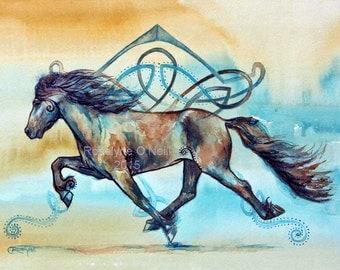 Icelandic Celtic Horse
