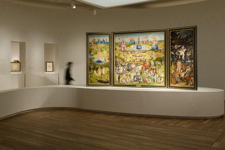 Nueva sala dedicada a El Bosco en el Museo del Prado. Foto Museo del Prado