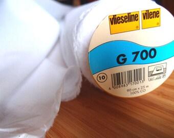 Vilene G700 Fusible Woven Interfacing - White - HALF YARD