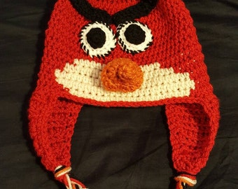 Child's Red Angry Birds Beanie