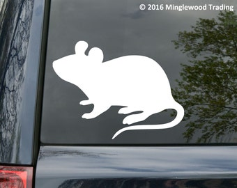 """NarMouse vinyl decal sticker 4"""" x 3"""" Mice Rat Rodent  *Free Shipping*"""