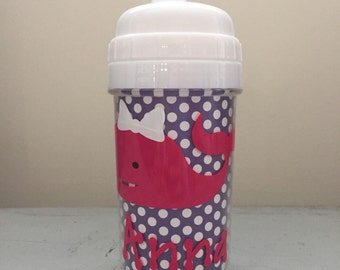 Personalized Toddler Sippy Cup-Monogrammed