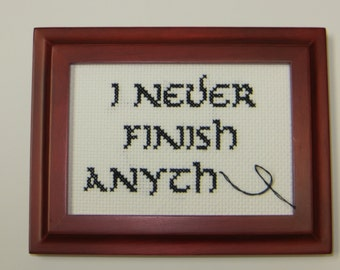Not Your Grandma's Cross-Stitch