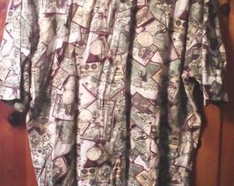 Vtg. Izod Men's Golf Shirt Size XL