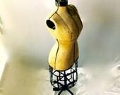 Antique Dress Form c.1909 Hall-Borchart Victorian Bustle